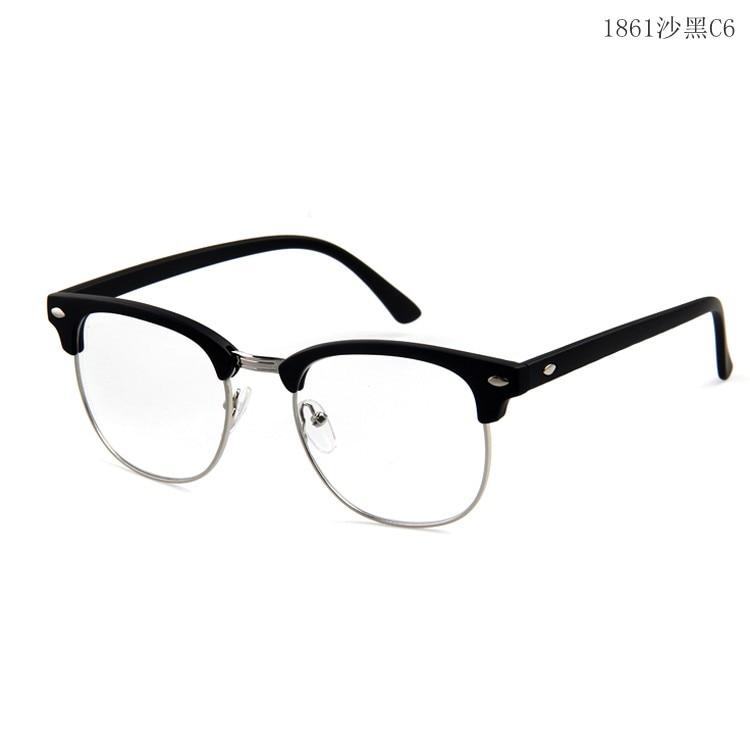 Acheter Longue Gardien Rétro Semi Sans Monture Lunettes Cadres hommes  femmes Optique Lunettes cadres vintage eyeware ... 1a151ae96a24