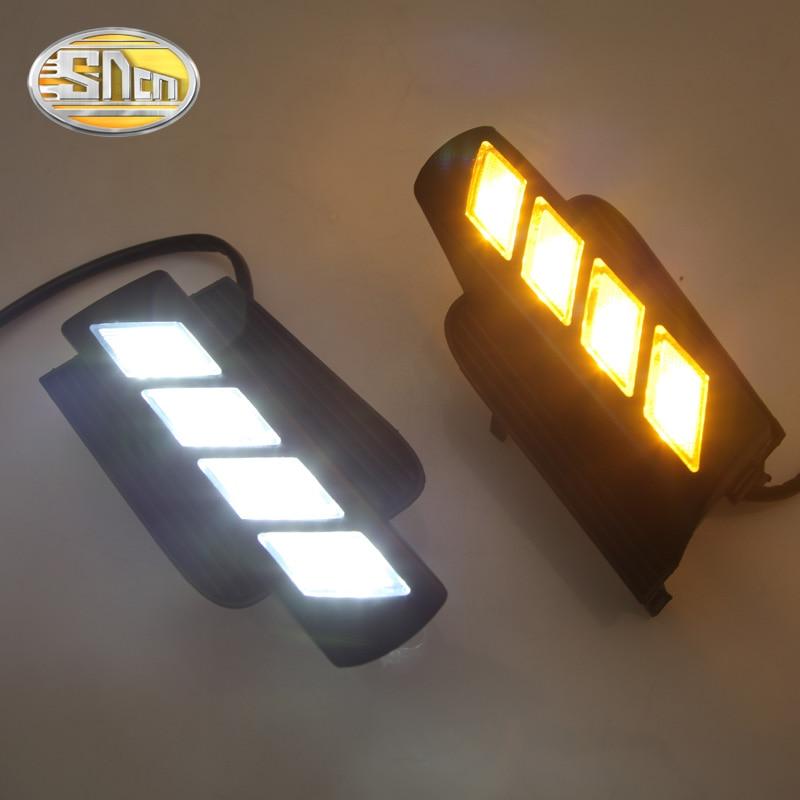 LED Daytime Running Light For Toyota Land Cruiser Prado FJ120 2003 2004 2005 2006 2007 2008