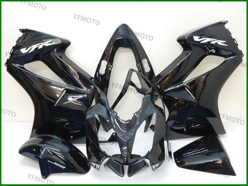 Motorcycle Black Full  Fairing Body Work Cowling For H O N D A  VFR800 VFR 800 2002-2007 03 04 05 06  +4 Gift цены онлайн