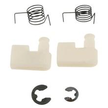 6* Starter Pawl Spring Clip For Chinese Chainsaw Parts 43CC 45CC 4500 5200 5800~ недорго, оригинальная цена
