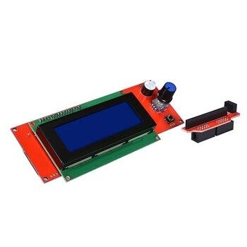 водитель шагового двигателя | Kfb3.0 3D плата управления + ЖК-дисплей 2004 Модуль монитор материнская плата + Drv8825 Stepstick шаговый двигатель драйвер модуль для ремонта