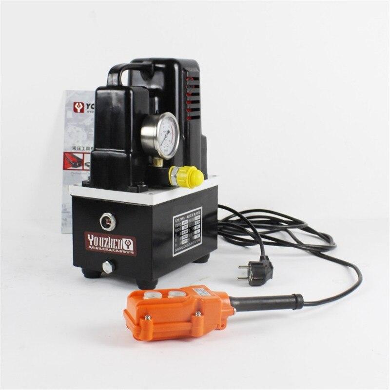 220 В 600 Вт высокого напряжения электрический насос ручной/ножной переключатель Электрический гидравлический насос гидравлическая станция ...