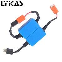 Lykas 1 пара H4 emc Автомобильные светодиодные HID декодер H1 H3 H7 9005 9006 H8 H9 H11 Canceller Canbus фар Туман свет без ошибка нагрузочного резистора