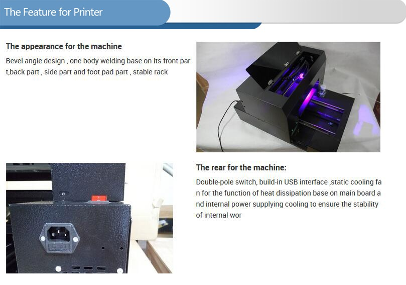 A3 size UV printer feature -1