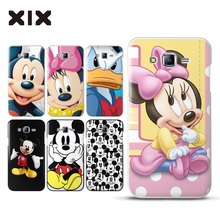 For fundas Samsung Galaxy J7 Mickey mouse hard PC cover for coque Samsung Galaxy J7 2016 new arrivals for case Samsung J7