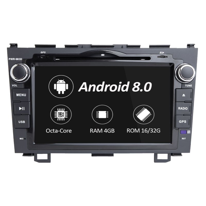 Android 8.0 Auto DVD Player GPS Navigation Stereo Video Automitive <font><b>Radio</b></font> Für Honda <font><b>CRV</b></font> CR-V 2006 2007 <font><b>2008</b></font> 2009 2011 4G WiFi image