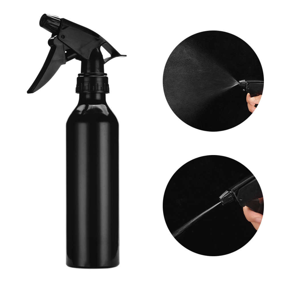 Large Empty <font><b>Bottles</b></font> With Black Trigger Mist Stream <font><b>Spray</b></font> Storage Cap For Essential Oil Cleaning Product Refill <font><b>Bottle</b></font> image