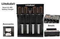 LiitoKala Lii 402 18650 Battery Charger Lii402 For 1 2V 3 7V AA AAA 18650 26650