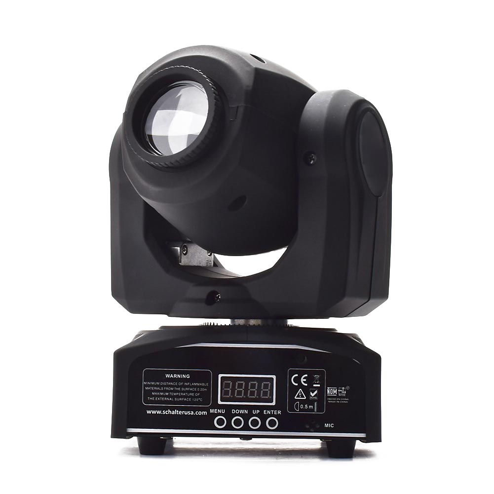 10W LED Patterns DJ Stage Moving Head Light DMX512 Auto Stop For Club Party Show Lighting 4pcs lot 10w led spot moving head light led inno pocket spot mini moving head dmx 10w led patterns stage party disco dj lighting