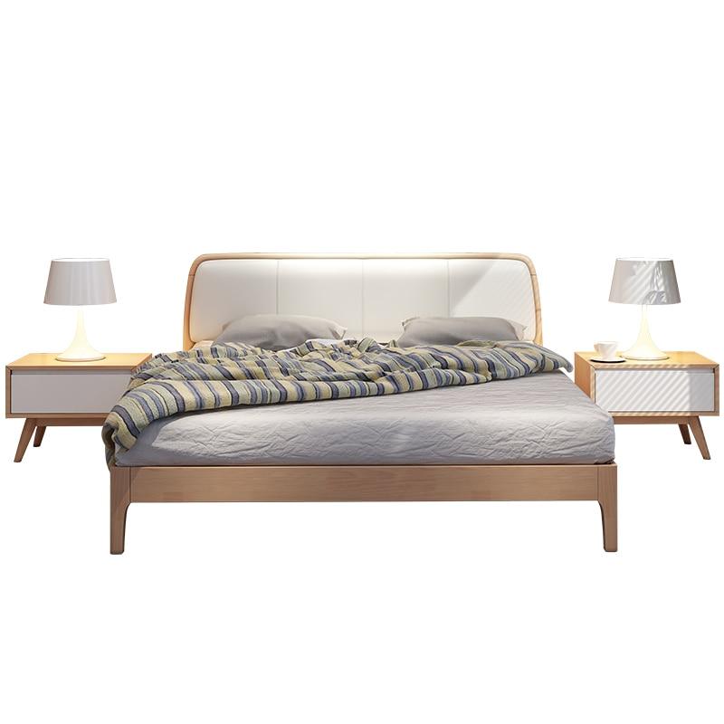 Room Literas Modern Yatak Frame Infantil Home Letto A Castello Matrimonio Leather bedroom Furniture Moderna Cama Mueble Bed
