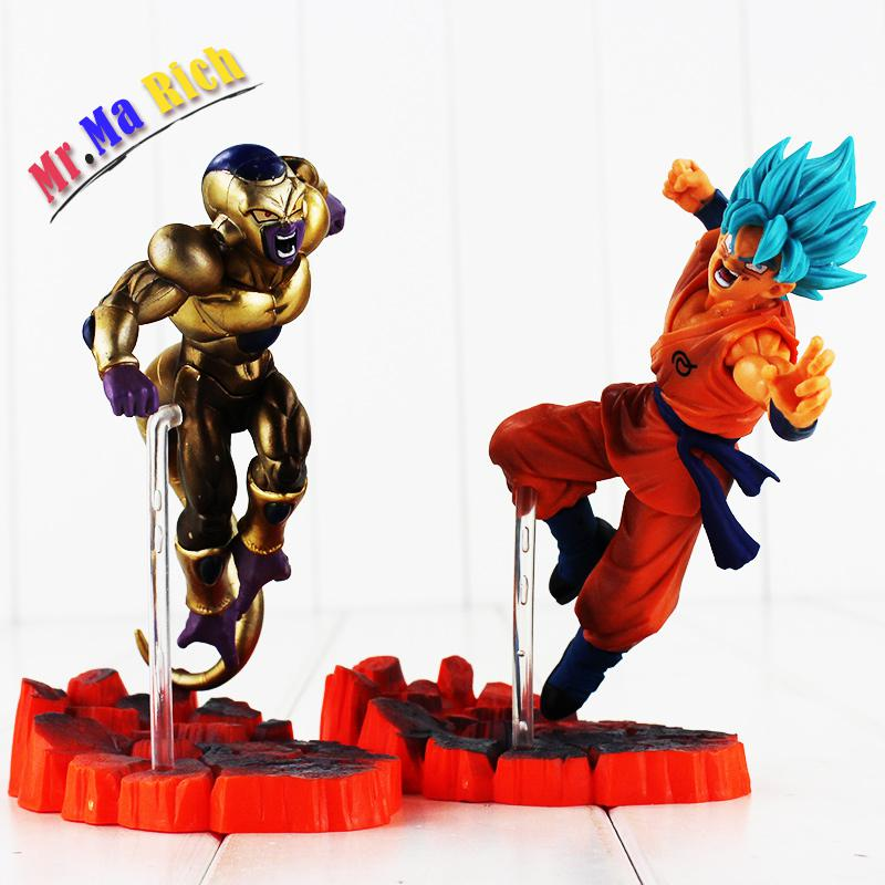2style 15cm Ball Resurrection F Golden Frieza Freeza Freezer Vs Goku Action Figure Model ...