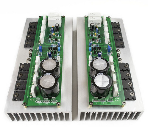 breeze audio PR-800 1000W Class A Class AB Professional stage power amplifier board Power tube TTA1943 TTC5200 + MJE15032 15033 hk audio pr o 18 sub a