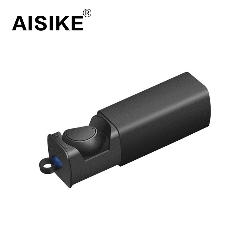 AISIKE HV316 Bluetooth Earphone Wireless V4.1 Sport Stereo Bluetooth Headset with charging box for iPhone xiaomi aisike mini stereo car bluetooth headset wireless earphone bluetooth handsfree car kit with 2 usb base charging dock