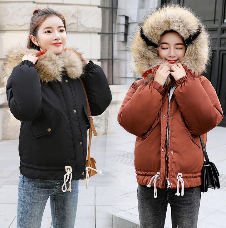 winter big girl down jacket coat thick warm loose hooded large fur collar children Parkas Outerwear university Girls clothing 2015 new hot winter cold warm woman down jacket coat parkas outerwear hooded loose luxury long plus size 2xxl splice cloak
