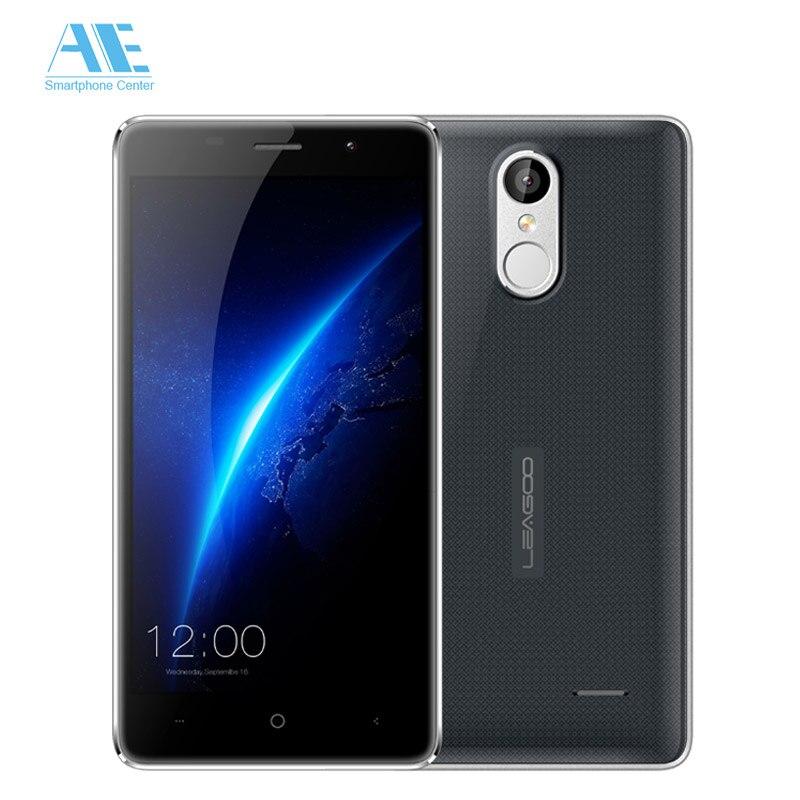 Цена за Оригинал Leagoo M5 MTK6580A Quad Core Android 6.0 Мобильный Телефон 2 ГБ RAM 16 ГБ ROM Мобильного Телефона Отпечатков Пальцев 3 Г WCDMA Смартфон 8.0MP
