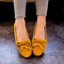 New Arrival 2016 Fashion ladies shoes slip on flats women's Moccasins PU leather flat shoes women ballet flats Zapatos Mujer
