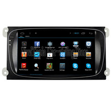 NaviTopia Quad Core Android 4.4/6.0 Car Radio for Ford Mondeo(2002-2011) for Focus(2002-2011)/S-Max(2002-2011),No DVD CD Player