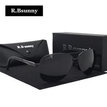 R.Bsunny 2017 new men polarized sunglasses women Fashion Classic unisex sun glasses Summer leisure driving preferred Goggles