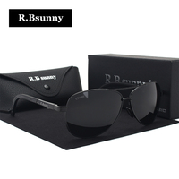 R Bsunny 2017 New Men Polarized Sunglasses Women Fashion Classic Unisex Sun Glasses Summer Leisure Driving