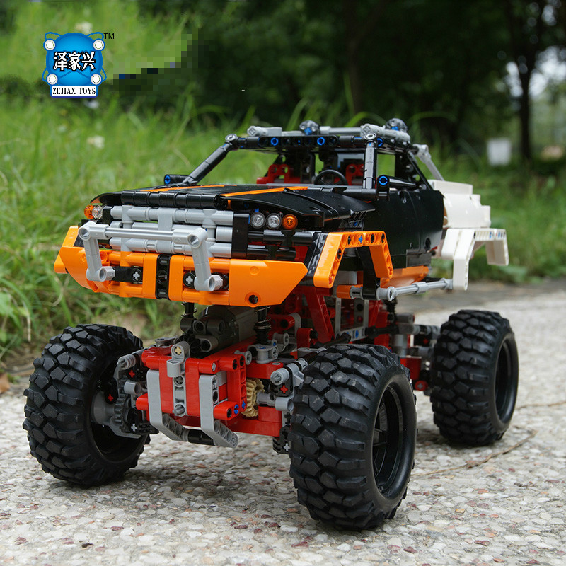 Hot Sale DIY Blocks 3D Model 4x4 Crawler Building Bricks Toys for Children Game Model Car Gift Compatible with Lepins Toys hot sale 1000g dynamic amazing diy educational toys no mess indoor magic play sand children toys mars space sand