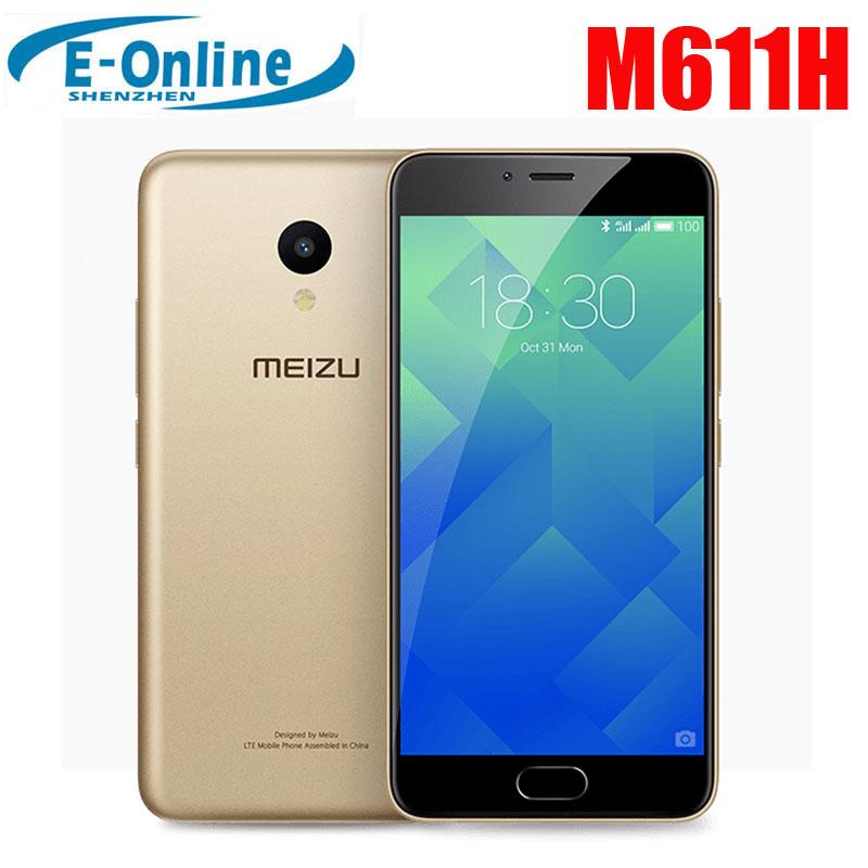 bilder für Ursprüngliche Meizu M5 Meilan 5 Globale Version M611H 4G LTE Handy 2 GB RAM 16 GB ROM 13MP