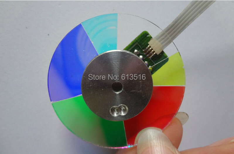 Free Shipping ! NEW original   For OPTOMA HD20 Projector Color Wheel   1PCS original projector color wheel for optoma ex540i