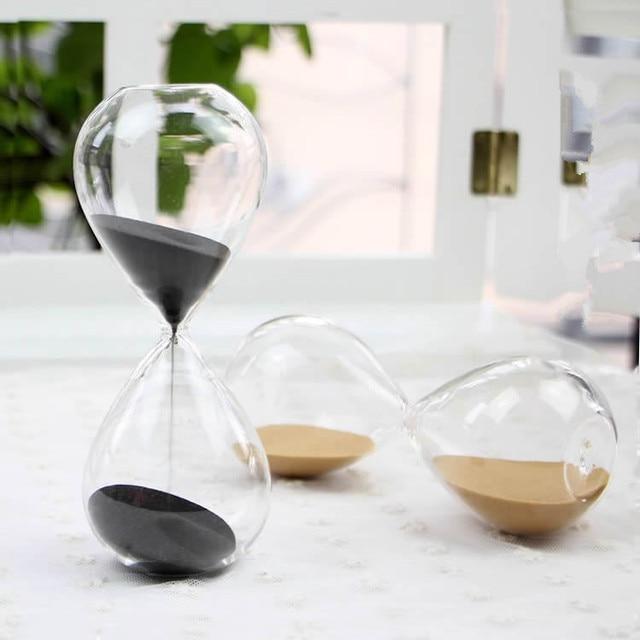 1 CÁI 45 phút Awaglass Hand-thổi Hẹn Giờ đồng hồ Magnet Magnetic Đồng Hồ Cát ampulheta thủ công mỹ nghệ sand clock đồng hồ cát hẹn giờ JY 1189-6