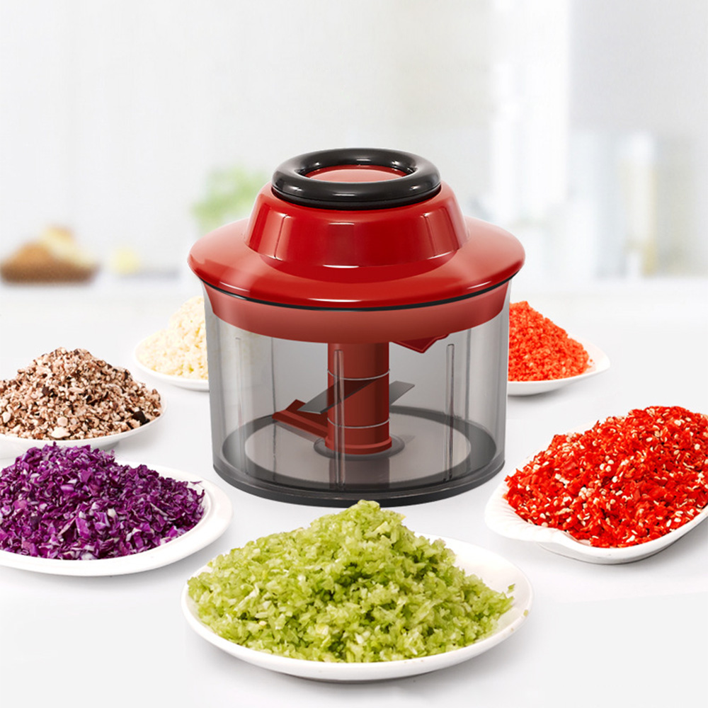 Multifunctional Manual Food Processors Chopper Vegetable Garlic Crusher Cutter Food Chopper Food Grade Material Kitchen Tool cast iron manual meat grinder crusher potable food chopper cutter table hand crank tool household kitchen accessories tool