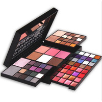 Cosmetics Makeup Kit 74 Colors Palette Set Eyeshadow Lipgloss Blush Concealer