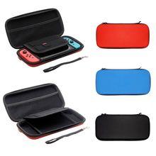 1pc eva casca dura bolsa de armazenamento protetora para nintendo switch console