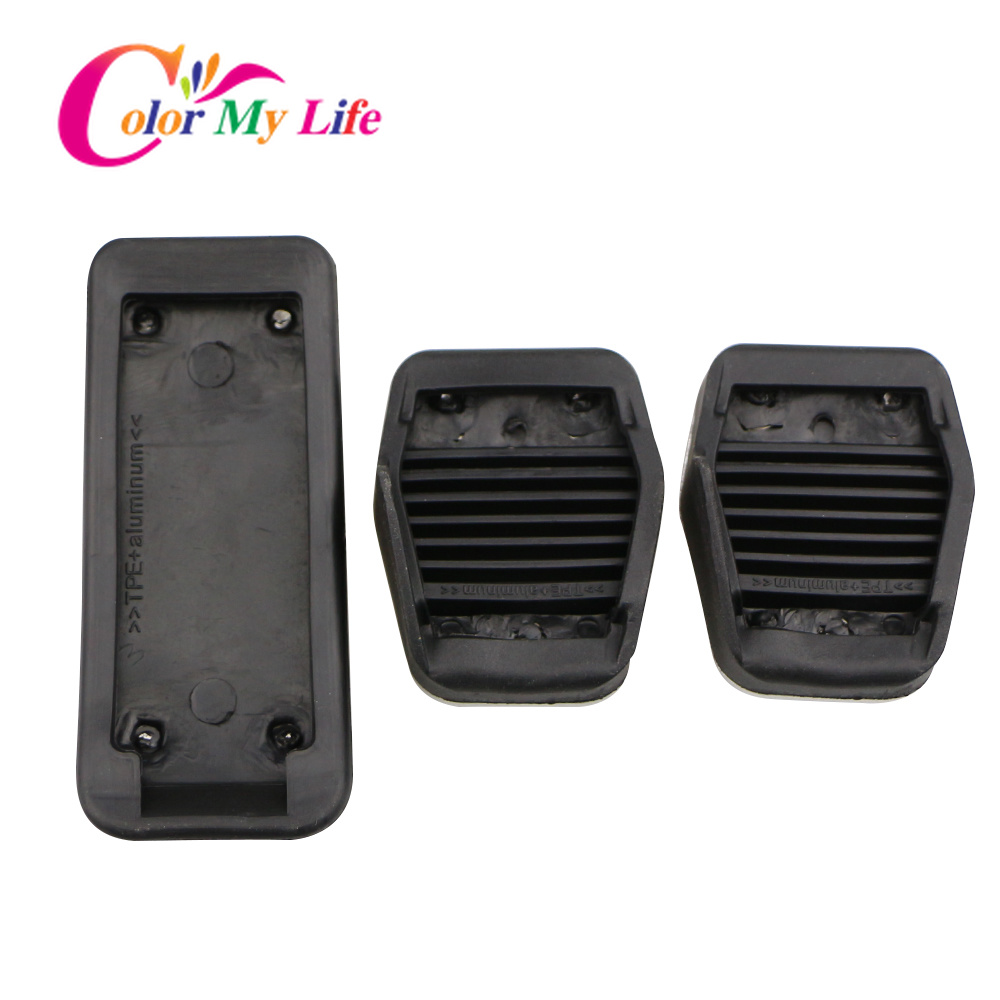 Image 5 - Color My Life Car Gas Fuel Pedal Set Brake Pedals Rest Foot Pedal Covers for Ford Focus 2 3 4 MK2 MK3 MK4 RS ST Kuga Escape-in Pedals from Automobiles & Motorcycles