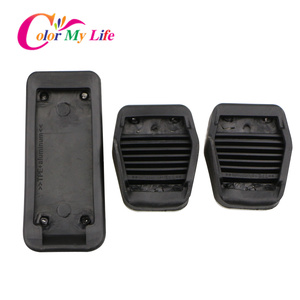 Image 5 - Color My Life Car Gas Fuel Pedal Set Brake Pedals Rest Foot Pedal Covers for Ford Focus 2 3 4 MK2 MK3 MK4 RS ST Kuga Escape