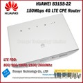Wholesale Original Unlock 150Mbps HUAWEI B315 4G LTE CPE WirelessRouter With Sim Card Slot And LAN RJ11 Port