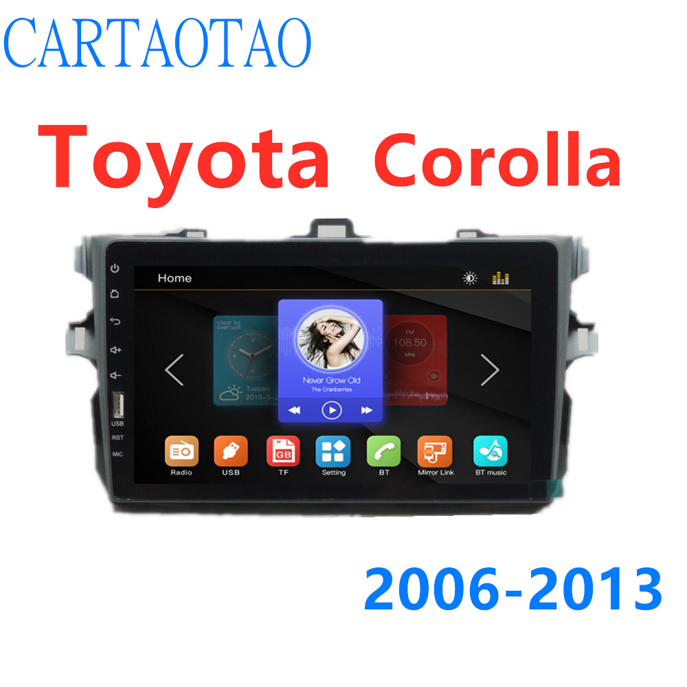 2 DIN Car Radio Multimedia Video Player Mirror Link For Toyota Corolla E140/150 2008 2009 2010 2011 2012 2013 No Android        2 DIN Car Radio Multimedia Video Player Mirror Link For Toyota Corolla E140/150 2008 2009 2010 2011 2012 2013 No Android