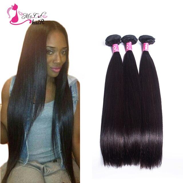 Cambojano reta virgem do cabelo 3 ofertas bundle hot rainha ali produtos de cabelo humano de 100 marcas tecer cabelo virgem não processado 7a cabelo