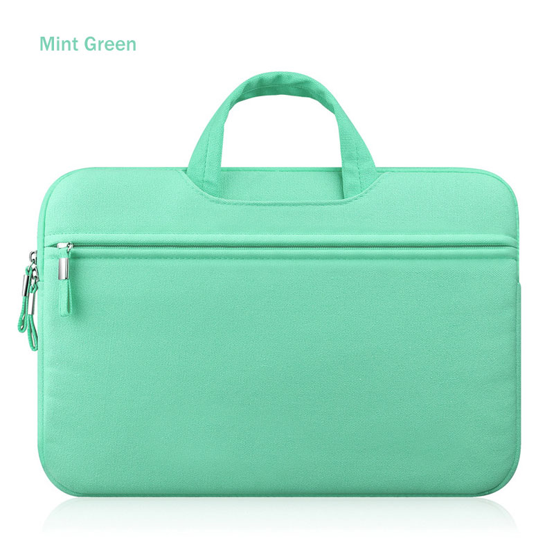 Mint Green Laptop Sleeve Case Carry Bag Cover Pouch For 11
