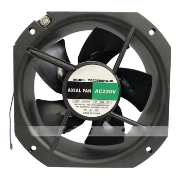 225x225x80mm TG22580HA2BL TG22580HA 22580 220V 0.4A 80W 2P 65dBA AC Fan,TG22580HA6BL 380V