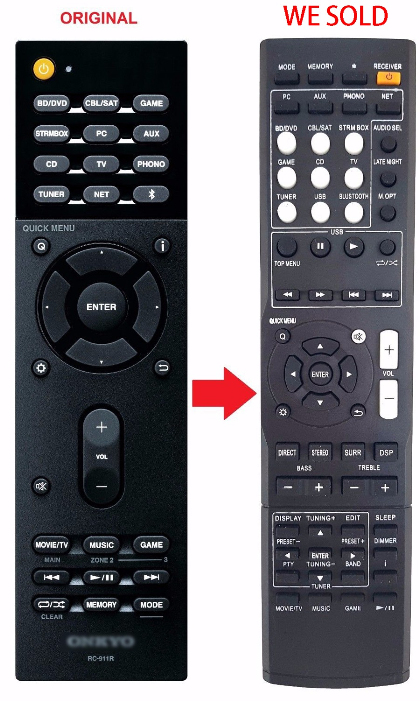 Remote Control For Av Receiver Rc 911r Remote Control Remote Control Controllercontroller Control Aliexpress