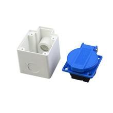 10pcs/lot Waterproof mounting box IP44 Weatherproof Splash Junction Socket Box for indoor and outdoor use