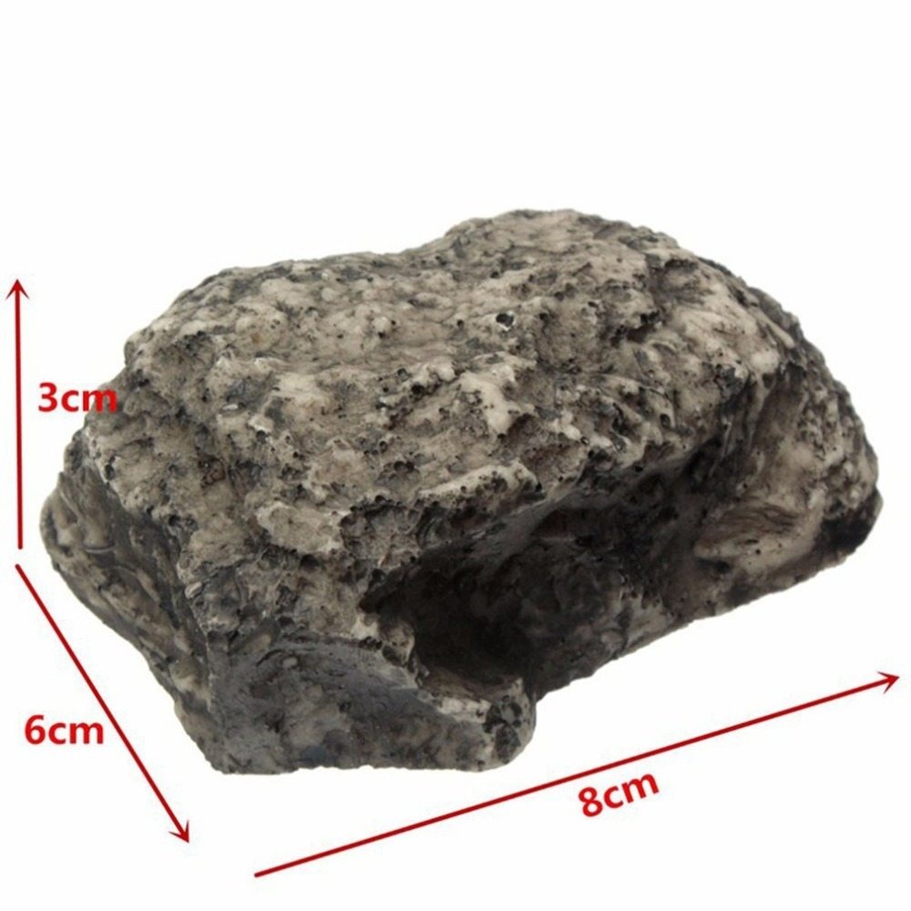 Купить с кэшбэком Outdoor Muddy Mud Spare Key House Safe Security Rock Stone Case Box Fake Rock Holder Garden Ornament 6x8x3cm