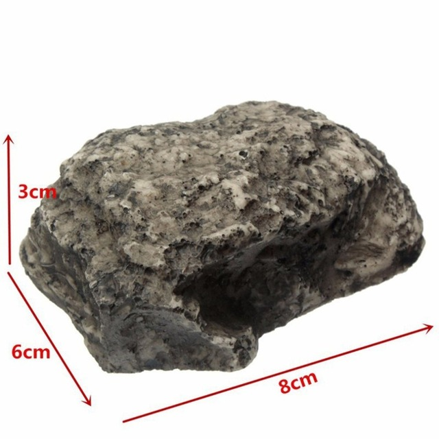 Outdoor Muddy Mud Spare Key House Safe Security Rock Stone Case Box Fake Rock Holder Garden Ornament 6x8x3cm 5