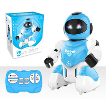 Intelligent RC Robot Smart Remote Control Football Robots USB Charging Singing And Dancing Simulation  Soccer Robot Toy rc smart robot english toy r 1 infrared slide walk shoot missile dancing intelligent remote control battle droid toy for kids