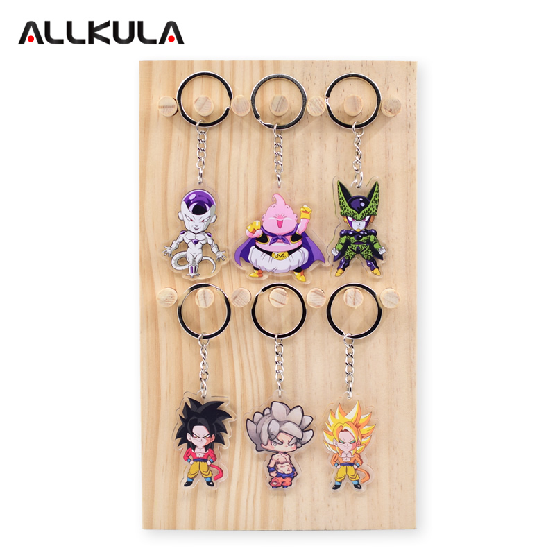 2018 Dragon Ball Z Action Figure for Keychain Majin Boo Customized Double Sided Game Peripherals Best Gift AKL156 in Action Toy Figures from Toys Hobbies