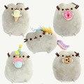 2016 Kawaii Brinquedos Новый Pusheen Cat Печенье и Мороженое и Пончик 5 Стили Фаршированная & Плюшевые Животных Игрушки для Девочек