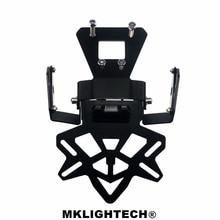 MKLIGHTECH For KAWASAKI Z400 NINJA250 NINJA400 2018-2019 Motorcycle Rear License Plate Tailstock Bracket Modification