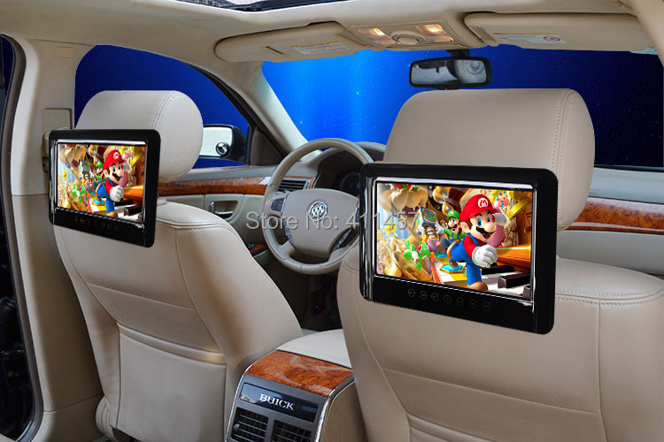 9 polegada voiture dvd portable avec usb sd fm ir pour. Black Bedroom Furniture Sets. Home Design Ideas
