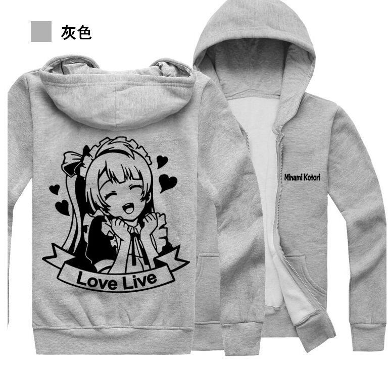 Invierno 05 Love Anime Sudaderas Cálidas Minami Live 01 Komori Hoodie Abrigo Cosplay De Hombre 02 Chaqueta Lovelive Disfraces vrETqv