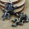 Hot Sell Game Of Thrones House Targaryen Red Dragon Keychain Stark Direwolf Lannister Lion Chaveiro Llavero
