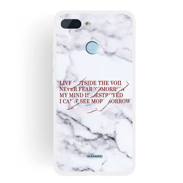Soft TPU Marble Pattern Phone Case