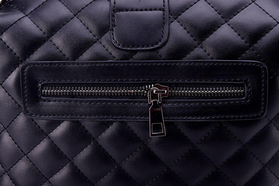 sac luxe matelassé en cuir PU
